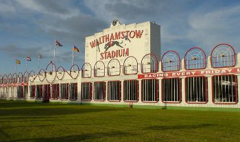 Walthamstow Stadium. Greyhound racing since 1933 by dg.